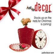 Wall Clocks - Buy Wall Clocks Online in India | Justfordecor.com