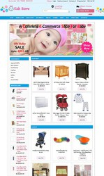 Readymade Offer On Kids Store Website